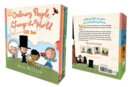 Ordinary People Change the World Gift Set by Brad Meltzer