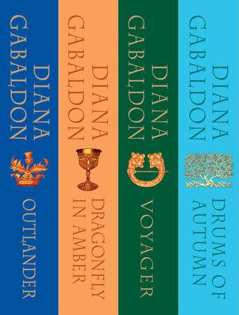 The Outlander Series Bundle: Books 1, 2, 3, and 4 by Diana Gabaldon