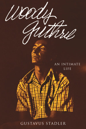 Woody Guthrie by Gustavus Stadler