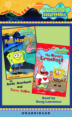 SpongeBob Squarepants: Chapter Books 3 & 4 by Annie Auerbach and Terry Collins