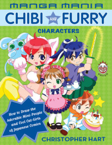 Manga Mania Chibi and Furry Characters