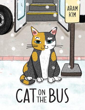 Cat on the Bus by Aram Kim
