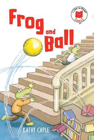 Frog and Ball by Kathy Caple