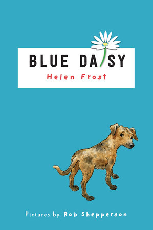 Blue Daisy by Helen Frost