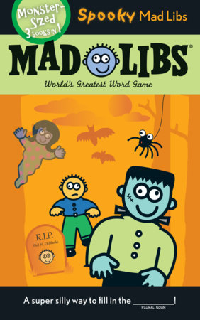 Spooky Mad Libs by Roger Price and Leonard Stern
