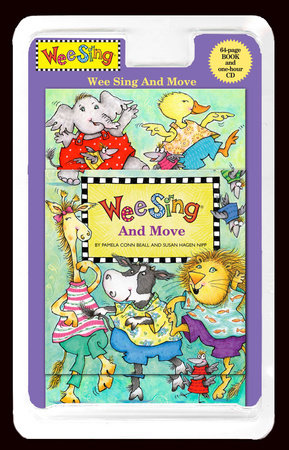 Wee Sing and Move by Pamela Conn Beall; Illustrated by Nancy Klein