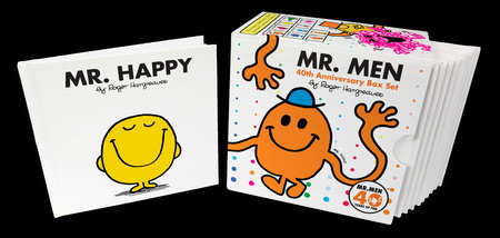 Mr. Men 40th Anniversary Box Set by Roger Hargreaves