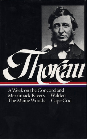 Henry David Thoreau A Week On The Concord And Merrimack