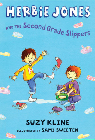 Herbie Jones & the Second Grade Slippers by Suzy Kline