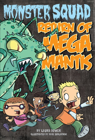 Return of Mega Mantis #2 by Laura Dower