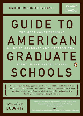 Guide to American Graduate Schools by Harold R. Doughty
