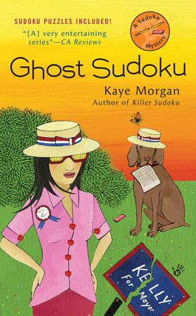 Ghost Sudoku by Kaye Morgan