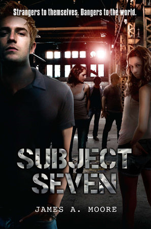 Subject Seven by James Moore