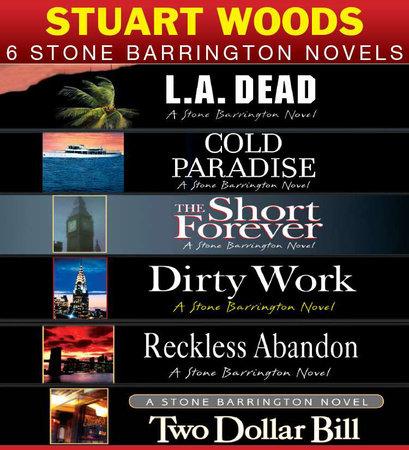 Stuart Woods 6 Stone Barrington Novels by Stuart Woods