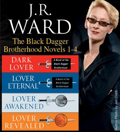 J.R. Ward The Black Dagger Brotherhood Novels 1-4 by J.R. Ward