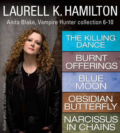 Laurell K. Hamilton's Anita Blake, Vampire Hunter collection 6-10 by Laurell K. Hamilton