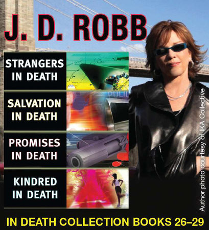 J.D. Robb IN Death COLLECTION books 26-29 by J. D. Robb