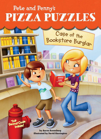 Case of the Bookstore Burglar #3 by Aaron Rosenberg; Illustrated by David Harrington