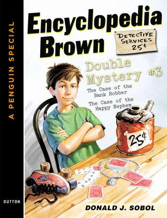 Encyclopedia Brown Double Mystery #3 by Donald J. Sobol