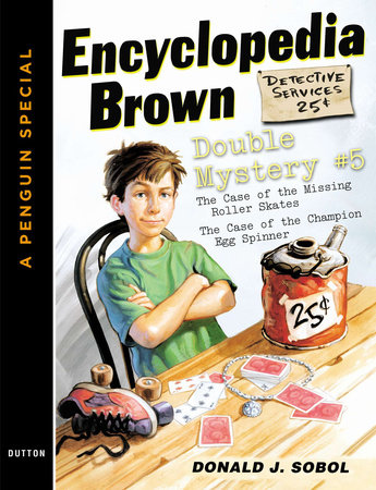 Encyclopedia Brown Double Mystery #5 by Donald J. Sobol