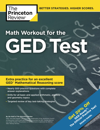 Math Workout for the GED Test by The Princeton Review