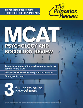 MCAT Psychology and Sociology Review by The Princeton Review