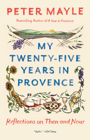 My Twenty-five Years in Provence Book Cover Picture