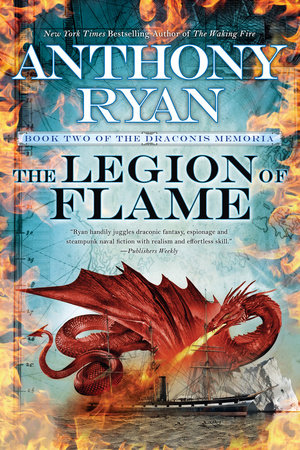 The Legion of Flame by Anthony Ryan