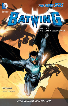 Batwing Vol. 1: The Lost Kingdom (The New 52) by Judd Winick