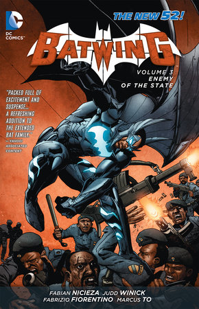 Batwing Vol. 3: Enemy of the State (The New 52) by Judd Winick and Fabian Nicieza