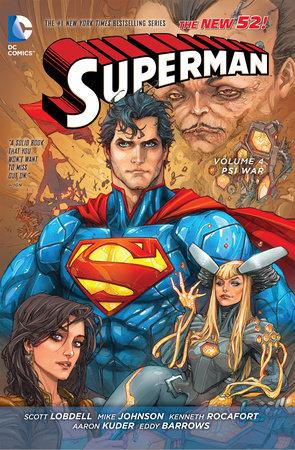 Superman Vol. 4: Psi-War (The New 52) by Scott Lobdell