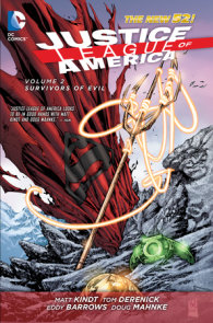 Justice League of America Vol. 2: Survivors of Evil (The New 52)