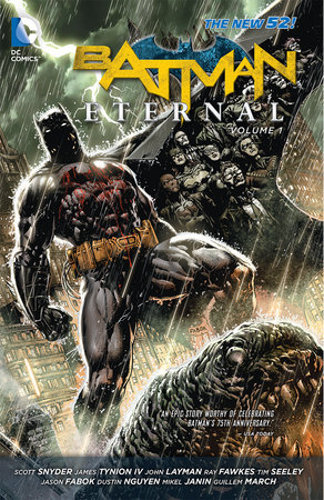 Batman Eternal Vol. 1 (The New 52) by Scott Snyder and Tim Seeley