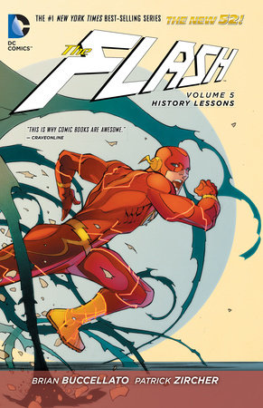 The Flash Vol. 5: History Lessons (The New 52) by Brian Buccellato