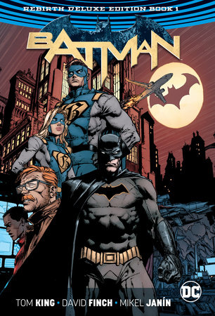 Batman: The Rebirth Deluxe Edition Book 1 by Tom King