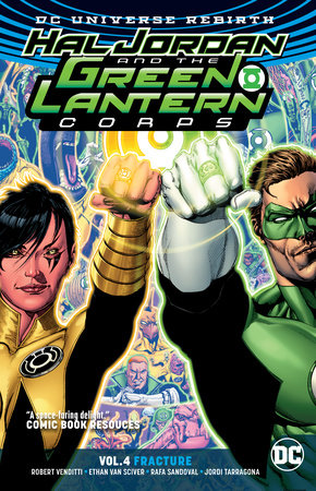 Hal Jordan and the Green Lantern Corps Vol. 4: Fracture (Rebirth) by Robert Venditti