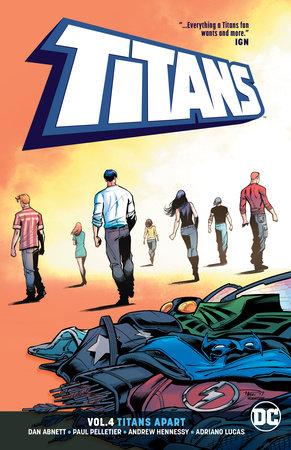 Titans Vol. 4: Titans Apart by Dan Abnett