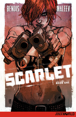 Scarlet Book One by Brian Michael Bendis