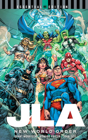 JLA: New World Order (DC Essential Edition) by Grant Morrison