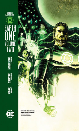 Green Lantern: Earth One Vol. 2 by Gabriel Hardman and Corinna Bechko