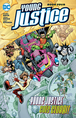 Young Justice Book Four by Peter David