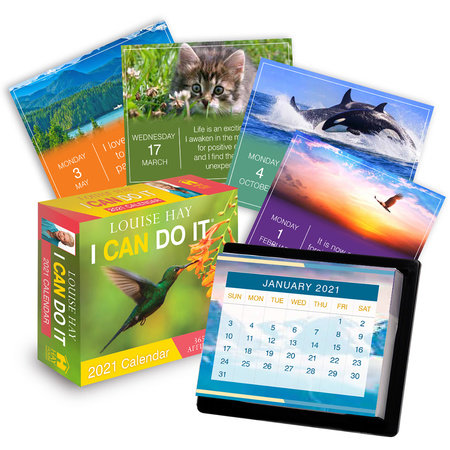 I Can Do It® 2021 Calendar by Louise Hay