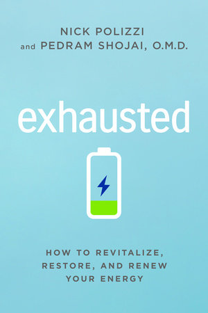 Exhausted by Nick Polizzi and Pedram Shojai. O.M.D.