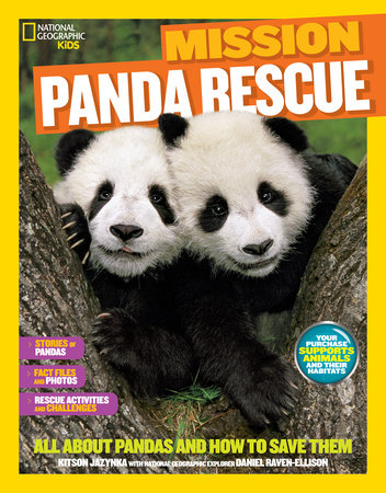 National Geographic Kids Mission: Panda Rescue by Kitson Jazynka
