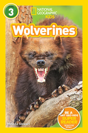 National Geographic Readers: Wolverines (L3) by Melissa Stewart