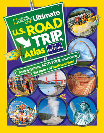 NGK Ultimate U.S. Road Trip Atlas, 2nd Edition by Crispin Boyer