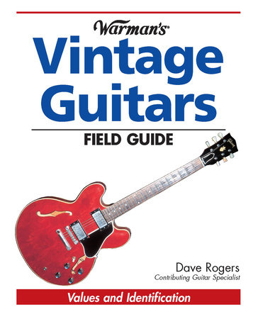 Warman's Vintage Guitars Field Guide by Dave Rogers