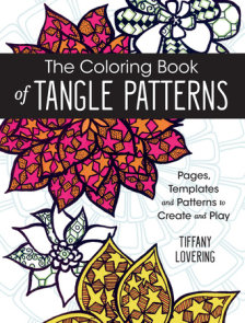 The Coloring Book of Tangle Patterns