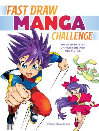 Fast Draw Manga Challenge by Thierry Beaudenon