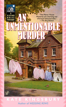 An Unmentionable Murder by Kate Kingsbury